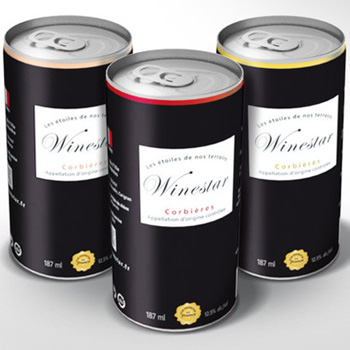 French wine in a can?